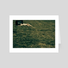 TV or  NOT tv 01 - Art Card by Metallus [Panagiotis Metallinos]