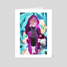 Goku Black - Art Card by Baesd art