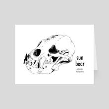 Sun Bear - Art Card by Aimee Flom