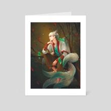Gyumiho - Art Card by Nikittysan