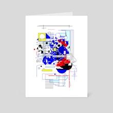 Data Field - Art Card by Alberto Carlos  Montana  © ( ͡° ʖ̯ ͡°)