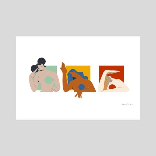 just three girls by Amanda Cotan