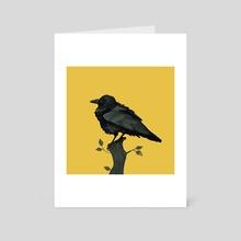 Raven - Art Card by Heather Penn