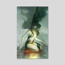February - Canvas by Reiko Murakami