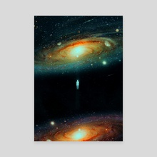Parallel Universe - Canvas by Nicebleed