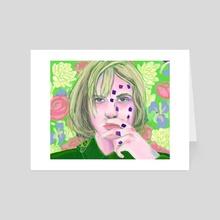 Haley Williams - Petals for Armor - Fan Art - Art Card by Erin Sheehan