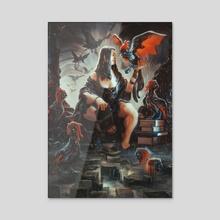 Companions - Acrylic by Rafael Sarmento