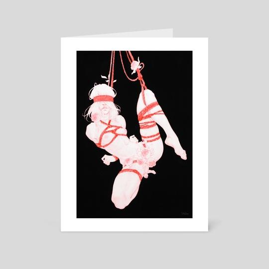 Peony girl 2 by Ira Weber
