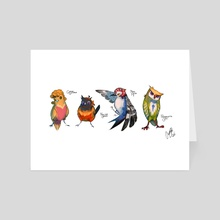 Piccione - Art Card by Aurora Castro