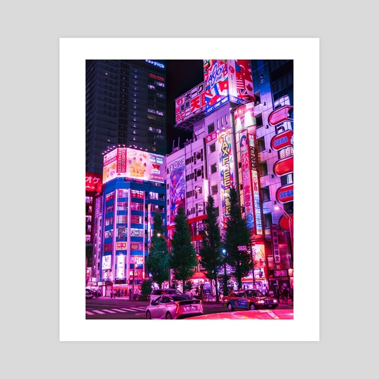 Night Time in Akihabara by H Designs