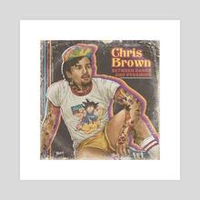 CHRIS BROWN - Acrylic by FULALEO