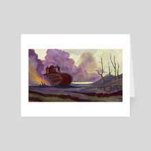 Heavy Duty - Art Card by Luke Oram
