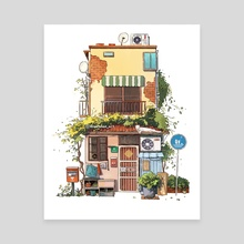 Ivy Store - Canvas by Angela Hao