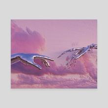 Destruction of Adam - Canvas by JayGxnzalez