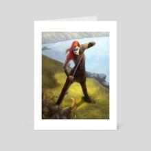 Aoifes hunt - Art Card by Ivan Garcia
