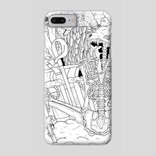A Pirates Treasure - Phone Case by alex whitehead