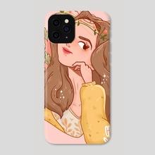 Yellow Spring - Phone Case by Hyemin Yoo