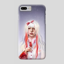 Red Cardinal - Phone Case by Kei Lumo