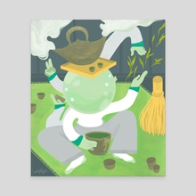 Matcha, Matcha - Canvas by Kevin VQ Dam