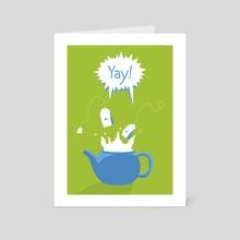 Tea Party - Art Card by Jonas Laugs