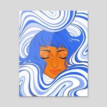Flow - Acrylic by Whitney Salgado