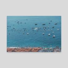 Positano 1.1 - Canvas by Solmaz Saberi