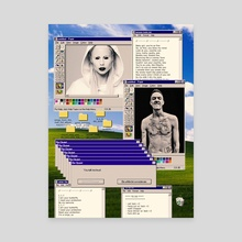 Die Antwoord Desktop - Canvas by Samuel Stroud