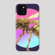 Disconnected Bee - Phone Case by Tatiana Kotelnikova