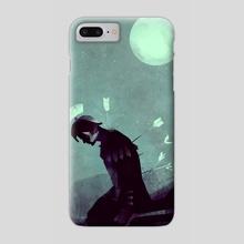 Nameless Knight - Phone Case by Micaela Blondin