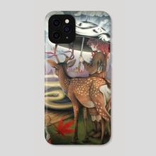 Intrepid Sojourn - Phone Case by Cas Loll