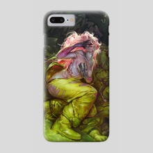 La Morte Vivante - Phone Case by Peter (Apterus) Polach