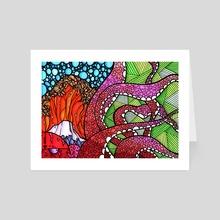 Cephalopodic Nonsense - Art Card by Marc Kusnierz