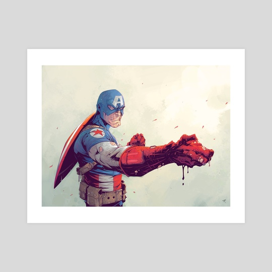 Captain America by Tonton Revolver