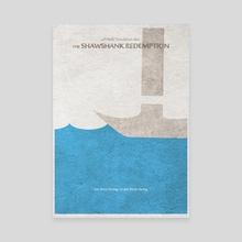 The Shawshank Redemption - Canvas by Deniz Akerman
