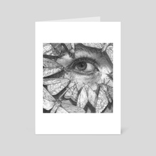 Lachryphagy: Sorrows That Flit Away - Art Card by T. Dylan Moore