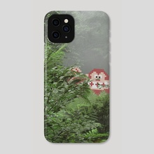 Gorilla In The Mist - Phone Case by Aled Lewis