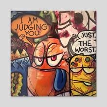 Everyone Loves a Winner - Acrylic by Ben Moss