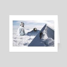 Way Home - Art Card by Serg  Nehaev