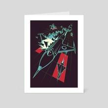 Dogfight - Art Card by Wadim Hermann