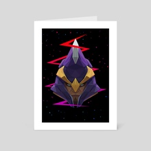 Dota 2 - Silencer - Art Card by Low Poly Project