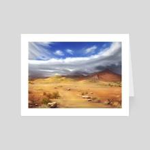 Desert - Art Card by Helen McLaughlin