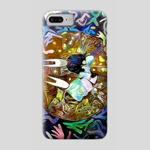 Space brothers - Phone Case by Mario Romoda