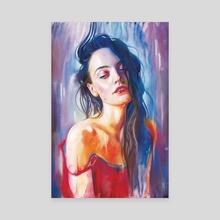 Rain. - Canvas by Eugenia Shchukina