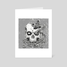 jack in the skull - Art Card by Martin Laforest