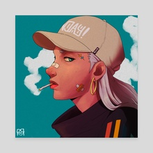 RDCR - Heads Up - Canvas by Rico Ramadhan