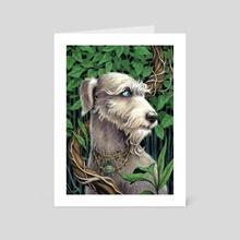 The Familiar - Art Card by Elisabeth Alba