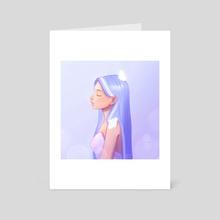 Serene 2 - Art Card by Gia A.