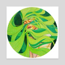 Winding III - Canvas by Adela Li