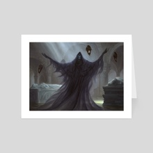 Crypt Ghast - Art Card by Chris Rahn
