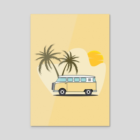 Yellow Combi by Visuals Artwork